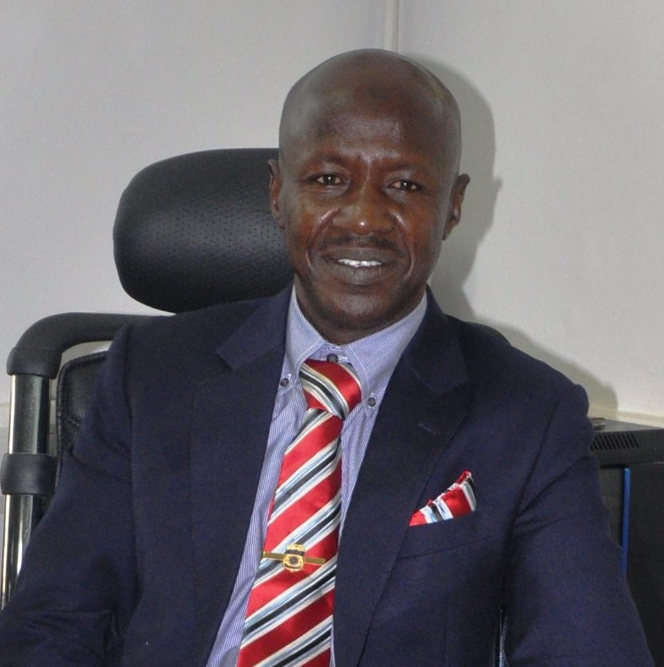 Photos: Ibrahim Magu Assumes Office As New EFCC Chairman