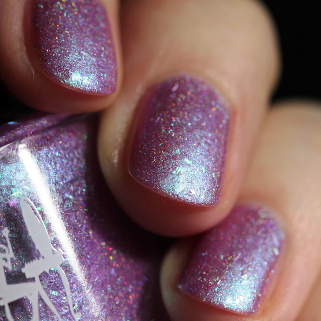 Girly Bits Fireweed swatch by Streets Ahead Style