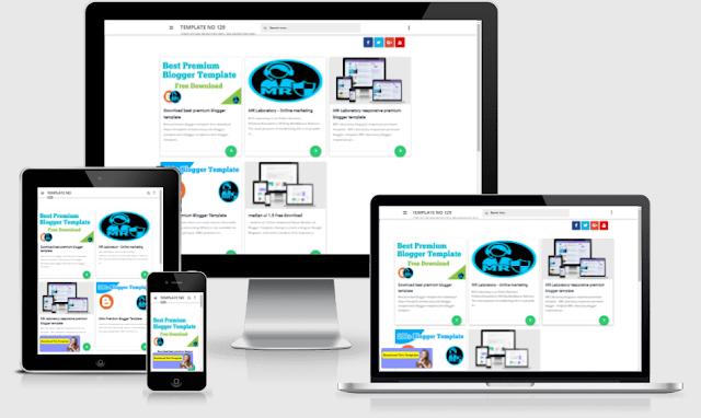 Masign Grid Premium blogger template