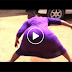 Kenya Lady Nearly Break Online With This Video - Watch Her Huge Backside
