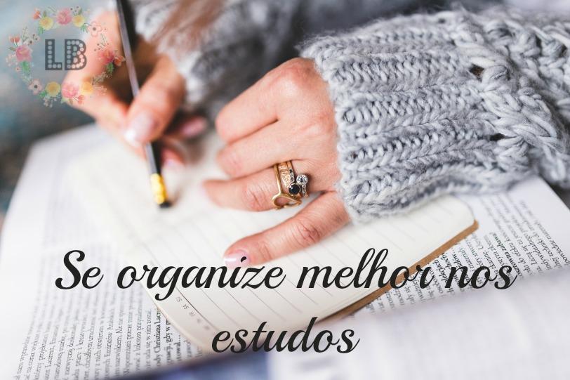 organize melhor nos estudos blog