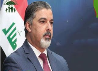 وزير العمل يعلن إطلاق الدفعة الخامسة من   رواتب الإعانة الاجتماعية