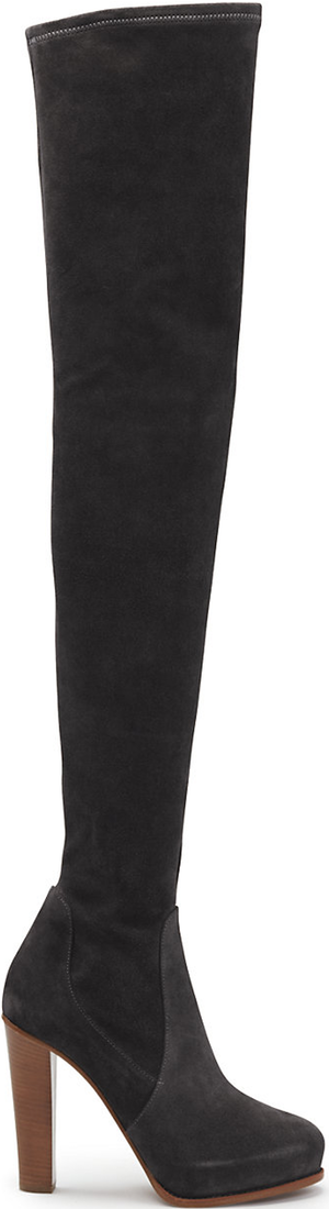 Ralph Lauren Suede Noa Boot in Black