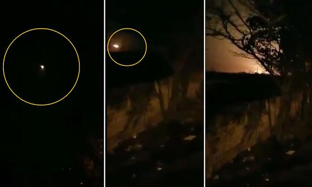 بالفيديو لحظة سقوط طائرة ركاب أوكرانية في إيران وعلى متنها 180 راكبا
