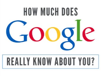 how much google know about you