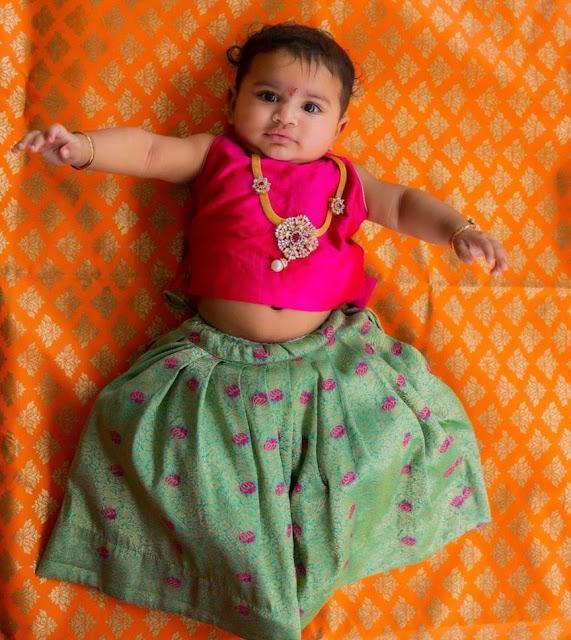 Dil Raju Grand Daughter Jewellery