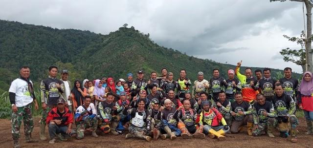 Explore Keindahan Alam Kabupaten Lampung Barat Dandim 0422/LB Ngetril Bareng Komunitas