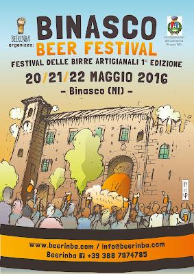 binasco beer festival 2016 20 - 21 - 22 maggio 2016