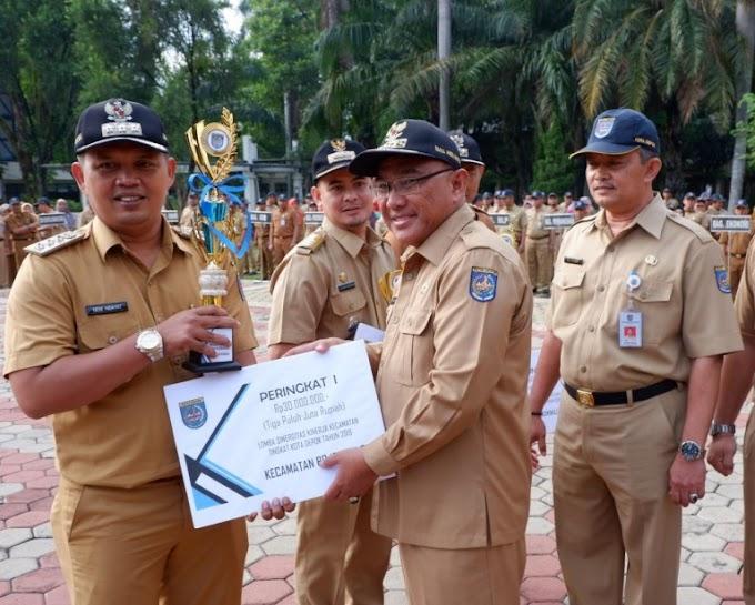 Bojongsari Juarai Lomba Sinergitas Kecamatan