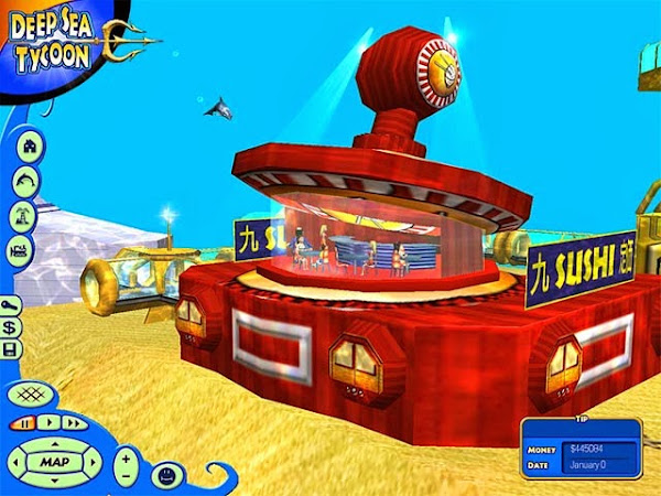 Screen Shot Of Deep Sea Tycoon (2003) Full PC Game Free Download At worldfree4u.com