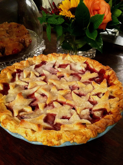 Two of the Best Cherry Pie recipes for Thanksgiving - take time out for a slice of life, Southern Style