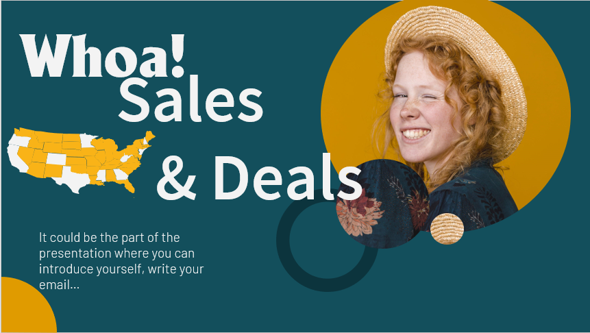 Sales & Deals Download Free PowerPoint Templates