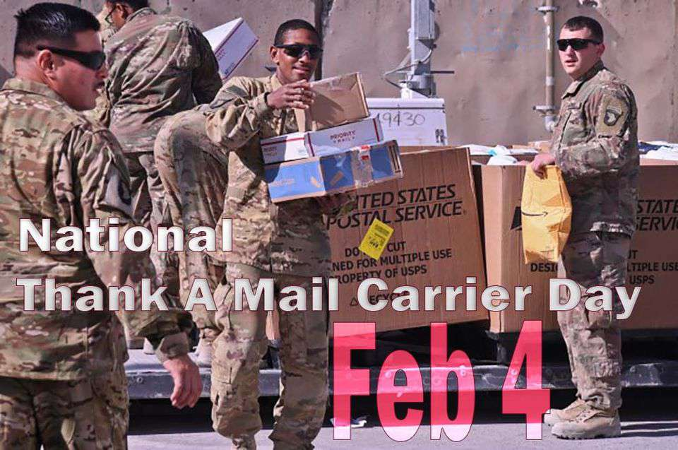 National Thank a Mail Carrier Day Wishes Awesome Picture