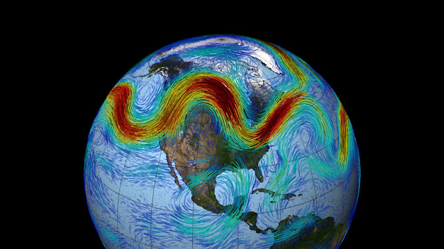 New theory finds 'traffic jams' in jet stream cause abnormal weather patterns