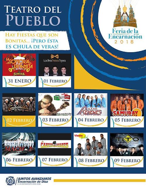 feria encarnación 2018 teatro del pueblo