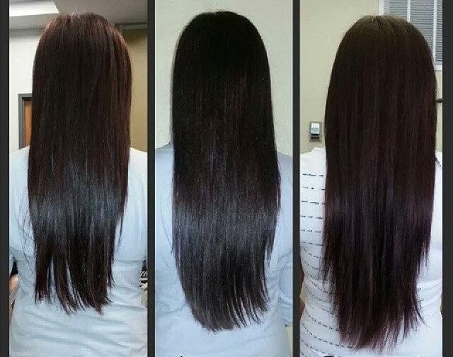 طريقة تطويل الشعر في شهر