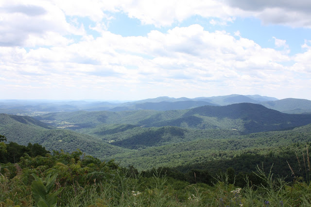 Blue Ridge Mountains of the Shenandoah Valley in Virginia