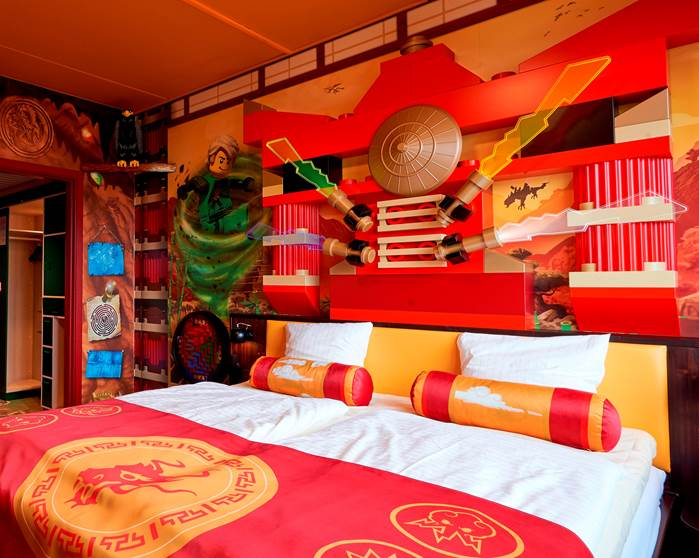 Camere Disneyland Hotel : Nuove camere a tema lego ninjago al legoland windsor resort