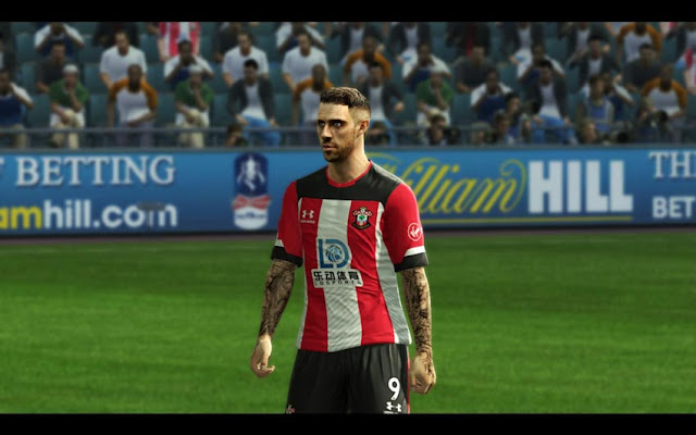 Danny Ings Face & Tattoo 2020 PES 2013