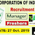 FCI Management Trainee Recruitment | September 2019