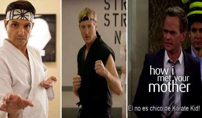 Recordamos el momento en que Barney Stinson (CCAM) nos cuenta la verdad sobre Karate Kid y Cobra Kai