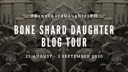 Bone Shard Daughter Tour Banner