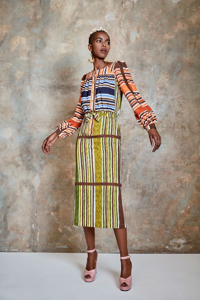The Duro Olowu Spring 2021 Ready To Wear Collection Was Inspired By Emma Amos. See Photos.