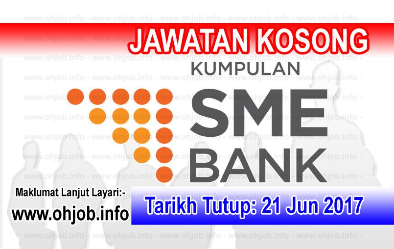 Jawatan Kerja Kosong SME Bank logo www.ohjob.info jun 2017
