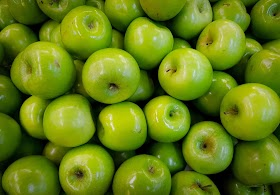 हरा सेब खसखस सलाद बनाने की विधि
