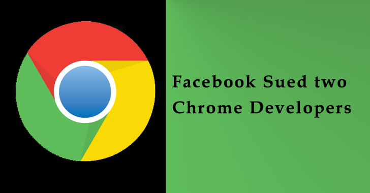 Facebook Sued two Chrome Developers for Scraping Profile Data