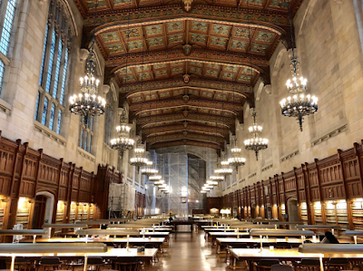 This historic Michigan library looks like something out of Hogwarts