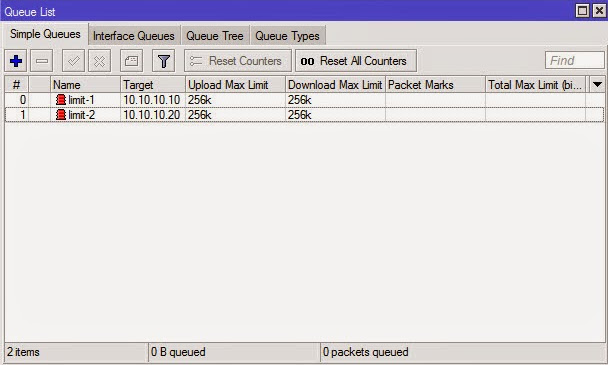 Tutorial Simple Bandwidth Management Mikrotik Menggunakan Simple Queue