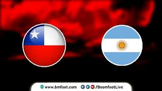 بث مباشر مباراة الأرجنتين و تشيلي مباشرة اليوم في تصفيات كأس العالم