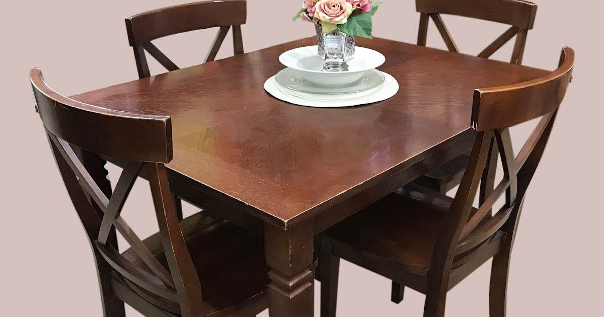 Uhuru Furniture Collectibles Dining Table 4 Chair Set 225 195 Sold