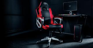 trust gaming gxt 705 ryon sedia ergonomica rosso 22785