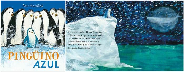 mejores cuentos infantiles 5, 6, 7, 8 años, libros recomendados pingüino azul