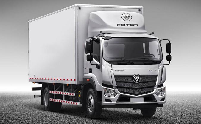 Foton apresentará linha de caminhões semipesados ao Brasil