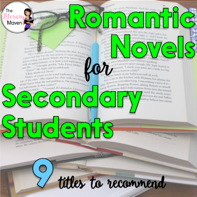 While many students are fans of the dark and mysterious when it comes to reading, others are looking for love in between the pages of their book and the promise of a happily ever after ending. Here's 9 romantic titles, some on the lighter side and others more serious, that I've recently read and would recommend for secondary students.