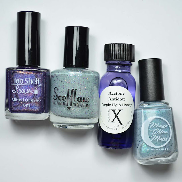 nail polish colors and acetone additive