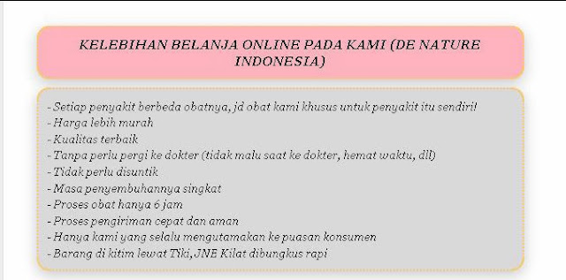 kelebihan belanja pada denature indonesia