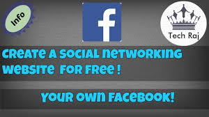 How to Create a Your Own Social Network Site Like Facebook [ free ]