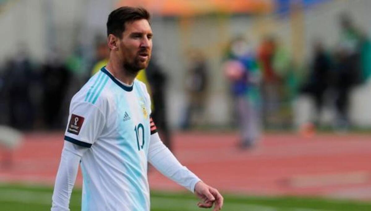 Messi redondeó un buen partido y festejó por primera vez en La Paz