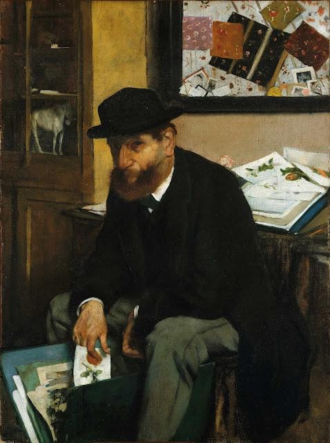 Эдгар Дега - Коллекционер гравюр (1866)