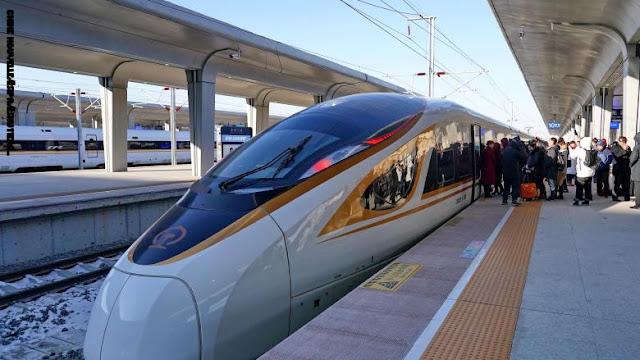 الصين تطلق أول قطار رصاصة ذكي في العالم.. إليك مميزاته العديدة