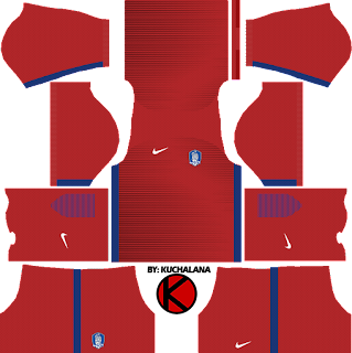 South Korea Kits 2017 - Dream League Soccer