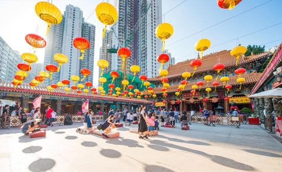 Wisata Hongkong Wong Tai Sin Temple