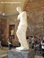 La Venus de Milo, el Louvre, París