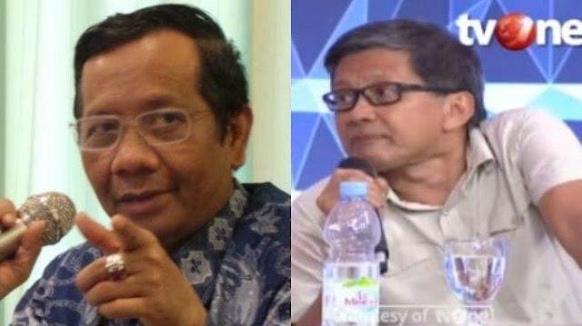 Rommy Kena OTT, Cuitan Rocky Gerung Dibenarkan Mahfud MD