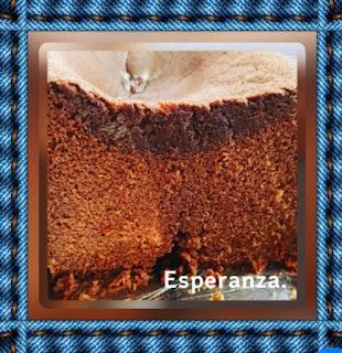 Bizcocho De Leche Condensada Y  Chocolate Negro