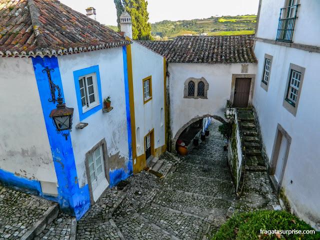 Vila medieval de Óbidos, Portugal